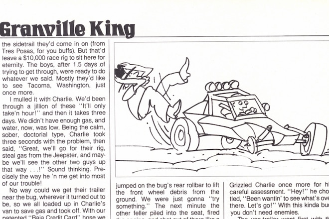 "Granville King's ""From The Back Country"" October 1984"