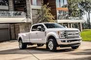 2018 ford f 450 super duty limited exterior front quarter 01