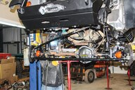 Jeep Wrangler JK axle truss and ball joint upgrade