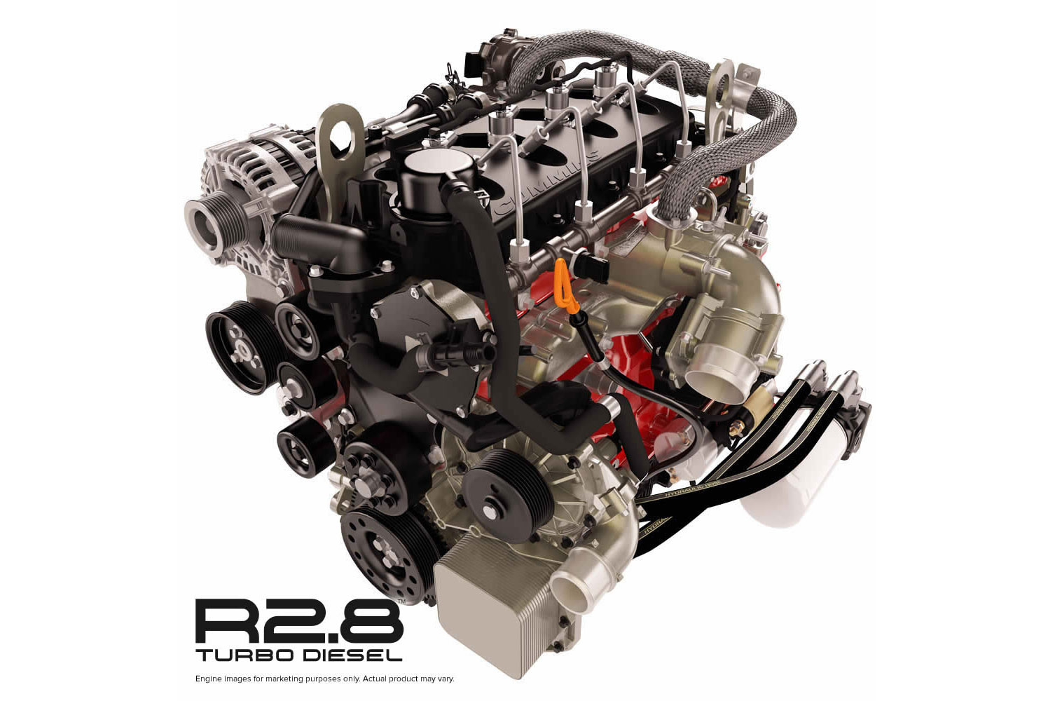 Cummins Starts Sales of Repower R2.8 Turbodiesel Crate Engine
