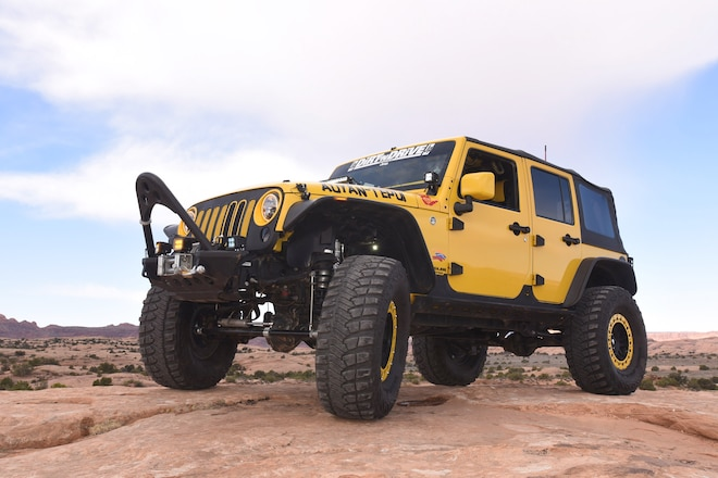2009 Jeep JK Wrangler: Bumble Bee Jeep JK