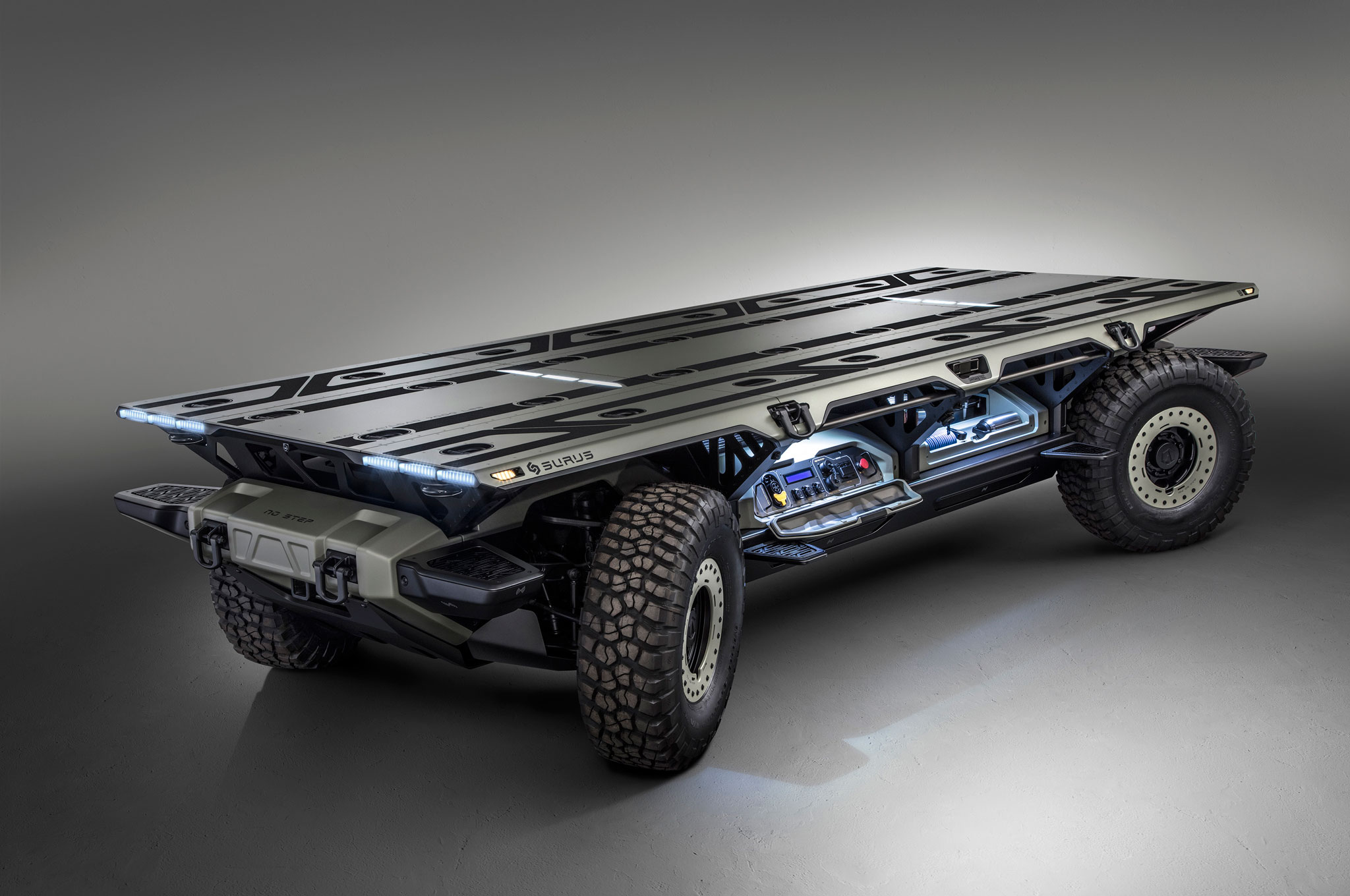 GM Reveals SURUS Autonomous, Fuel Cell Medium-Duty Truck Concept