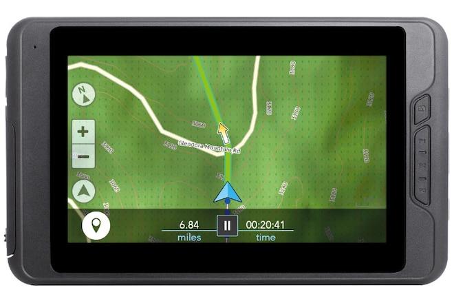 Magellan eXplorist TRX7 GPS Packs Thousands of Trails & Cloud Connectivity