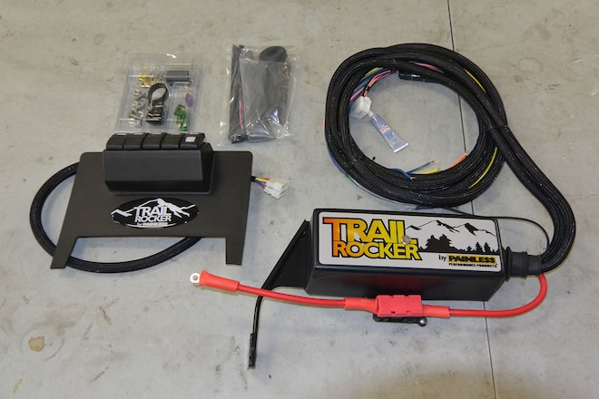 Adding Trail Rocker Switch Kit System Without Drilling a Hole