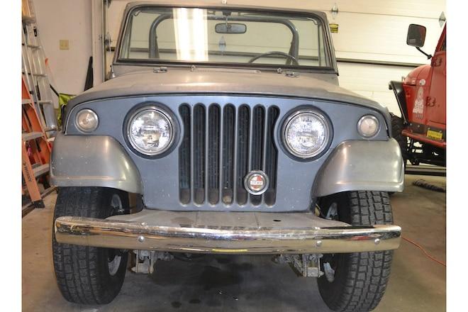 Vintage Jeep Driveshaft Upgrade