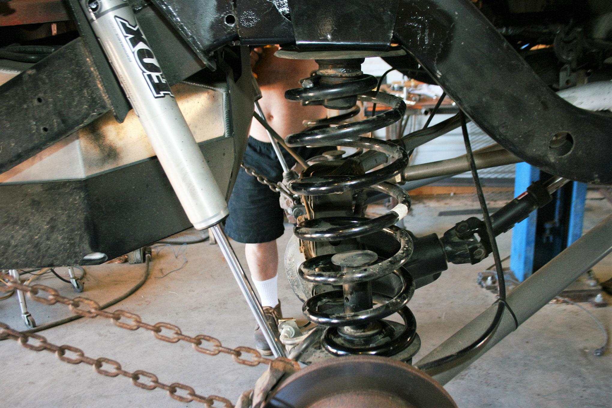 070 2005 rubicon suspension coil spring jeep bump stop arb