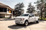 2018 ford f 450 super duty limited exterior front quarter 03