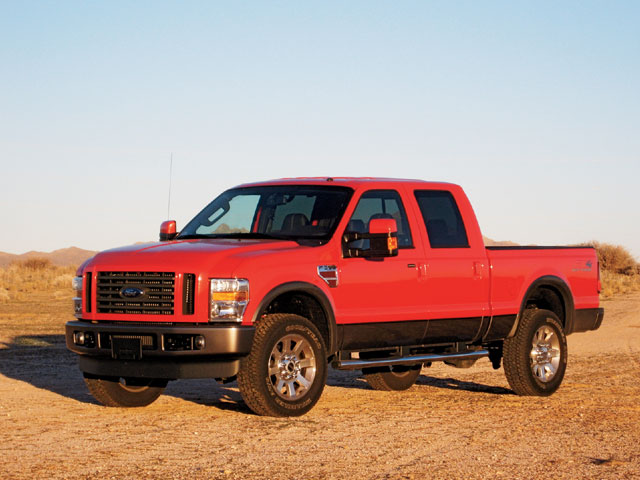 2008 Ford F350 Super Duty Crew Cab FX4 Review - Long-Term Report