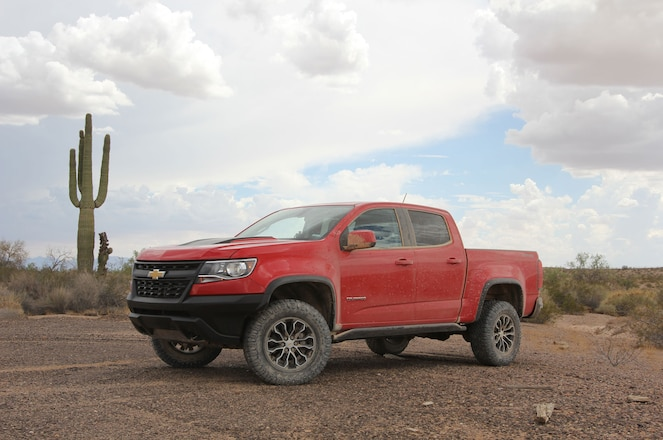 Under the Radar: GM's Saguaro Trail and the Chevrolet Colorado ZR2