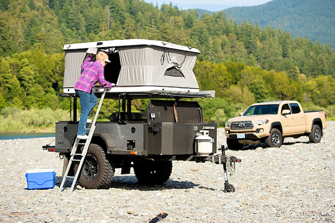 Off-Grid Condo: We Test Schutt Industries' Xventure XV-2 Deluxe Off-Road Tent Trailer