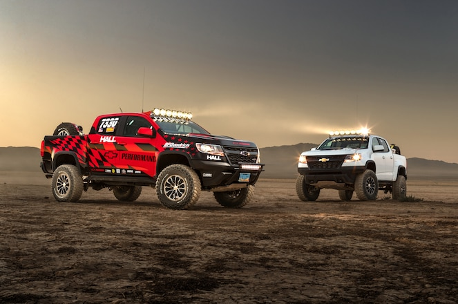 Chevy Race Development Truck and AEV Concept Rig are at 2017 SEMA Show #TENSEMA17
