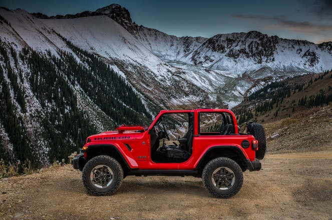 Images of 2018 Jeep Wrangler and Wrangler Unlimited JL Shown at SEMA 2017 – #TENSEMA17
