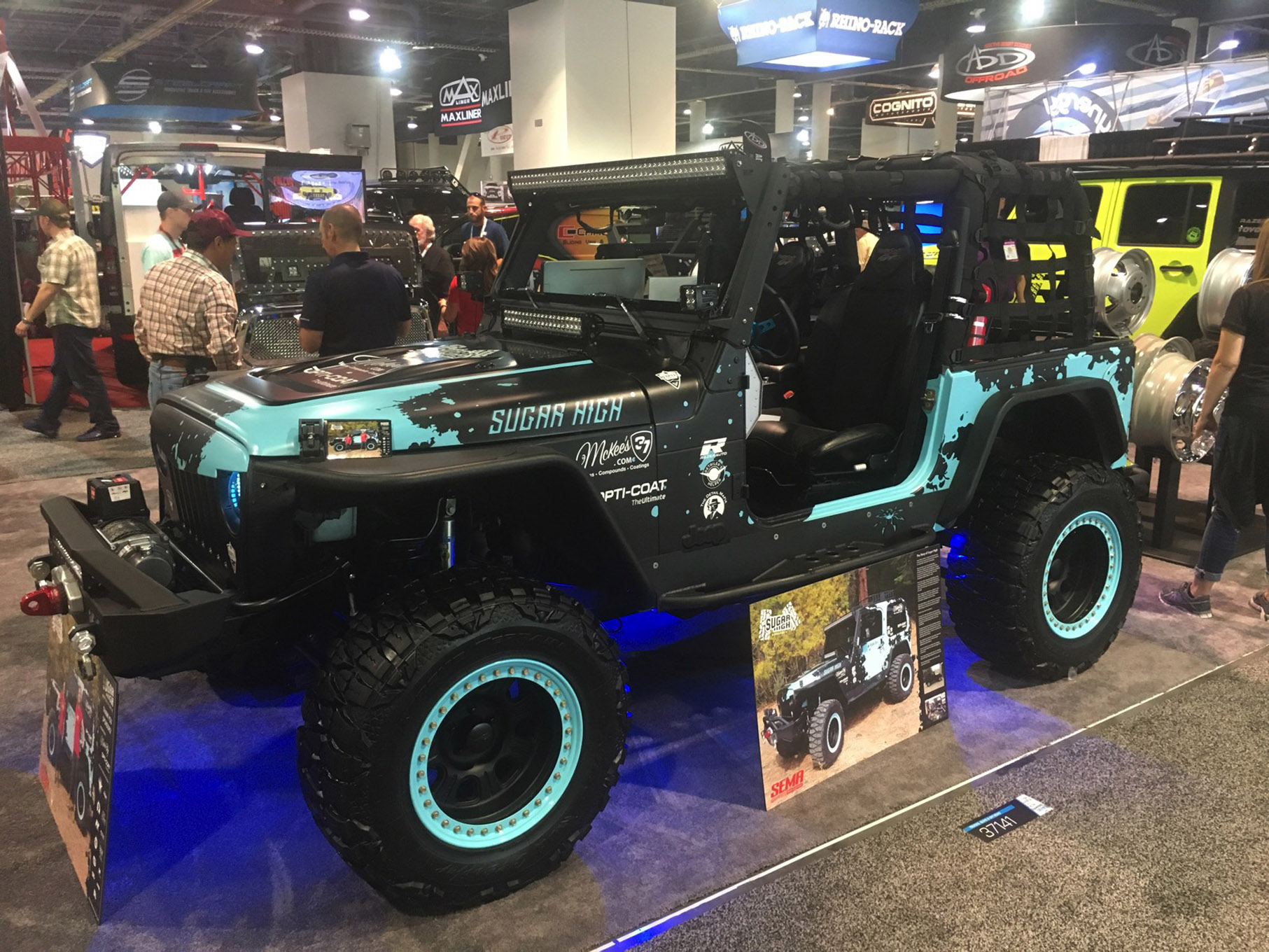 021 sema 2017 day 1 south upper hall gallery photos