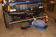 026 currie rockjock 44 front and rear axles jeep cherokee xj install