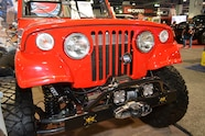 010 sema jeep mini feature jkcommando front bumper
