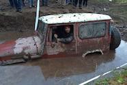 03 1983 toyota fj40 stuck in mud left view