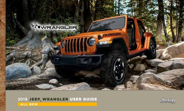 JL Wrangler Owner's Manual Revealed
