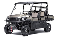 025 utv guide kawasaki mule pro fxt ranch edition front three quarter