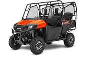 020 utv guide honda pioneer 700 4 front three quarter