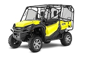 018 utv guide honda pioneer 1000 4 front three quarter