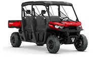 014 utv guide can am defender max xt front three quarter