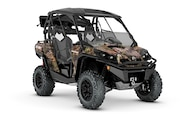 010 utv guide can am commander mossy oak hunter edition front three quarter