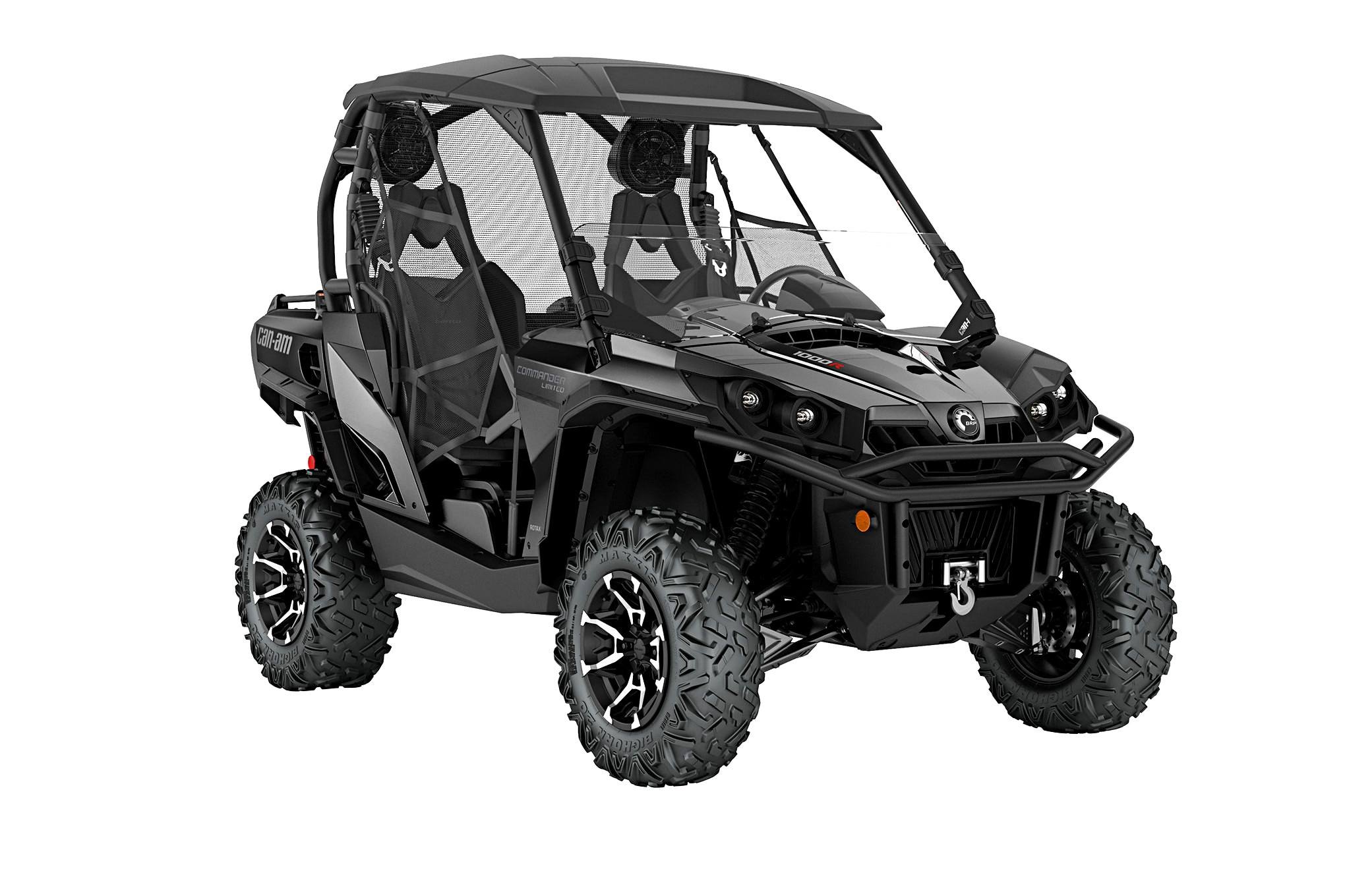 009 utv guide can am commander limited front three quarter
