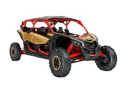 002 utv guide can am maverick max x rs turbo front three quarter