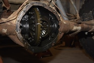 023 dino rear axle without cover
