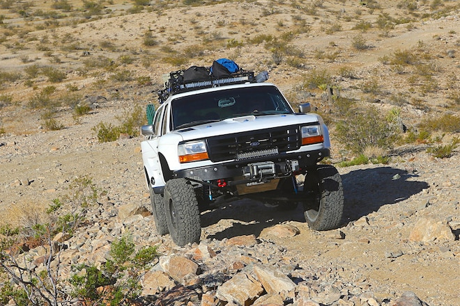 1995 Ford Bronco: Making Our Point