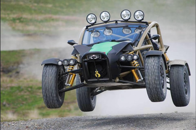Ariel Nomad Gets Even More Power With Supercharger