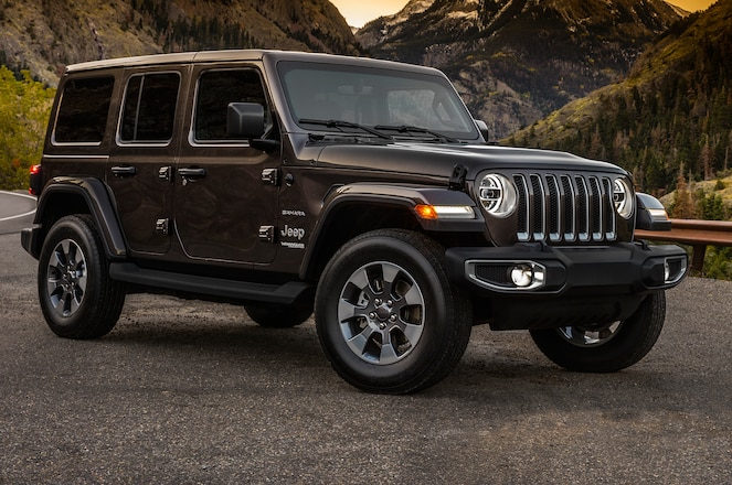 2018 Jeep Wrangler Unlimited JL with 3.6L V-6 Gets Official Fuel Economy Ratings
