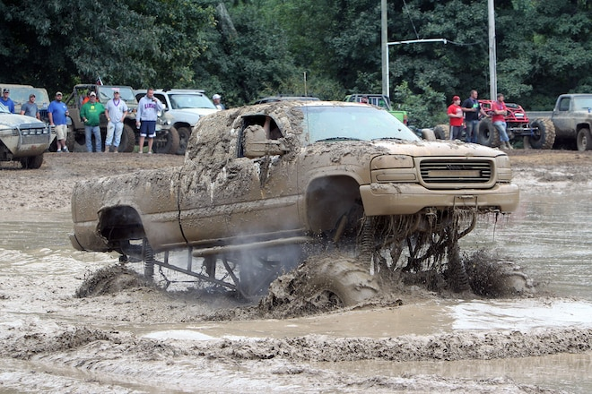 Party Gras 2015! Trucks Gone Wild mud mayhem at Brick's Off Road Park