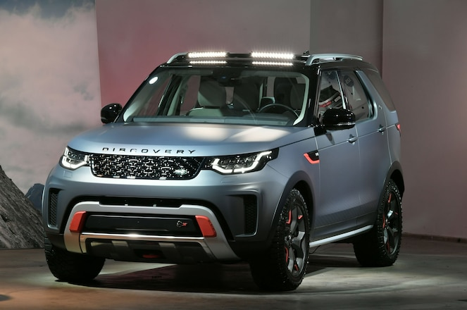 2018 Land Rover Discovery SVX Debuts At The Los Angeles Auto Show
