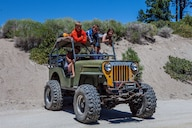 It might not be pretty, but this Detroit Diesel-powered Jeep is the