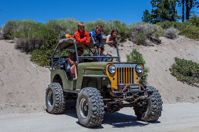 It might not be pretty, but this Detroit Diesel-powered Jeep is the pride of the family