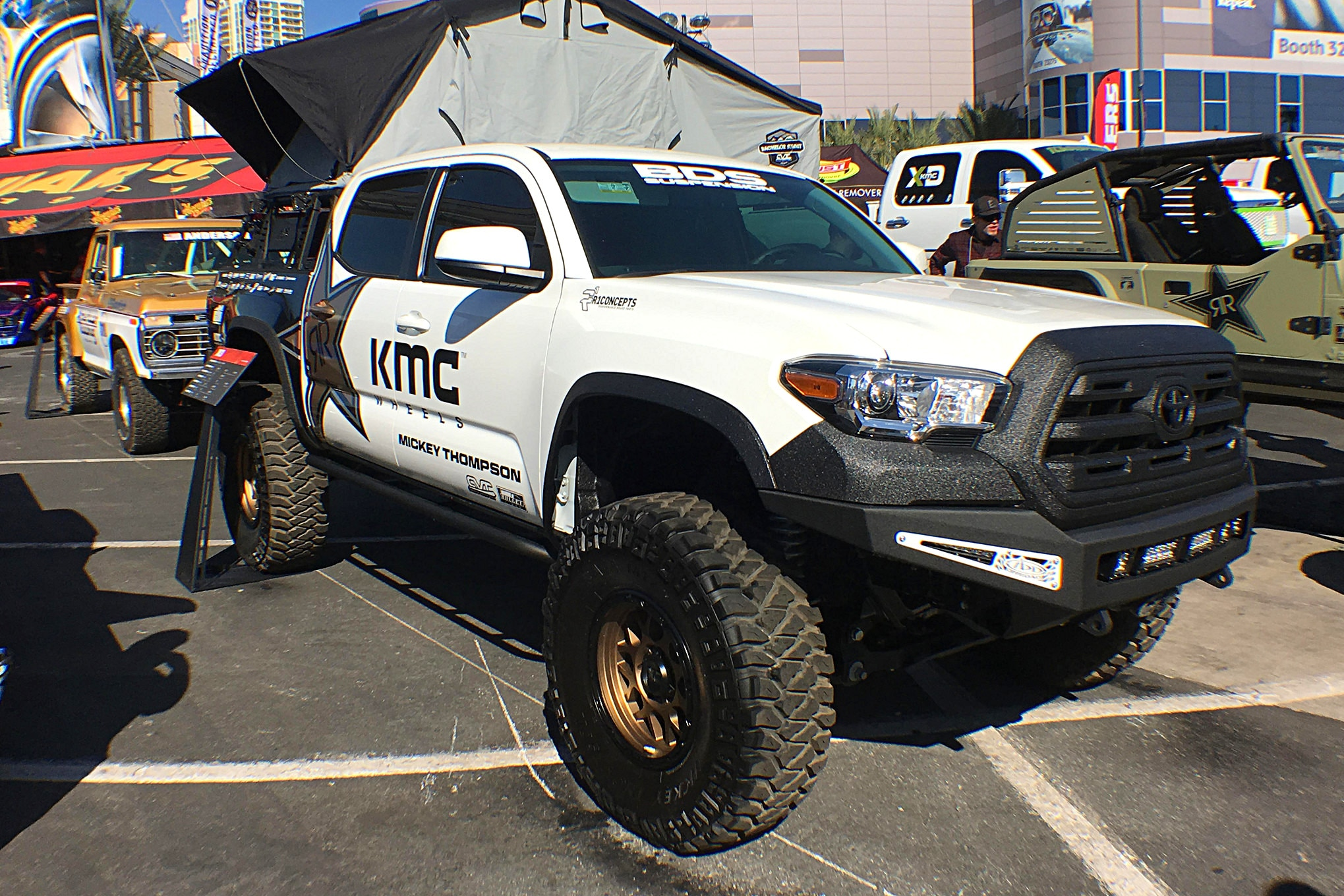 KMC Wheels had the right idea with this Ram overlander.