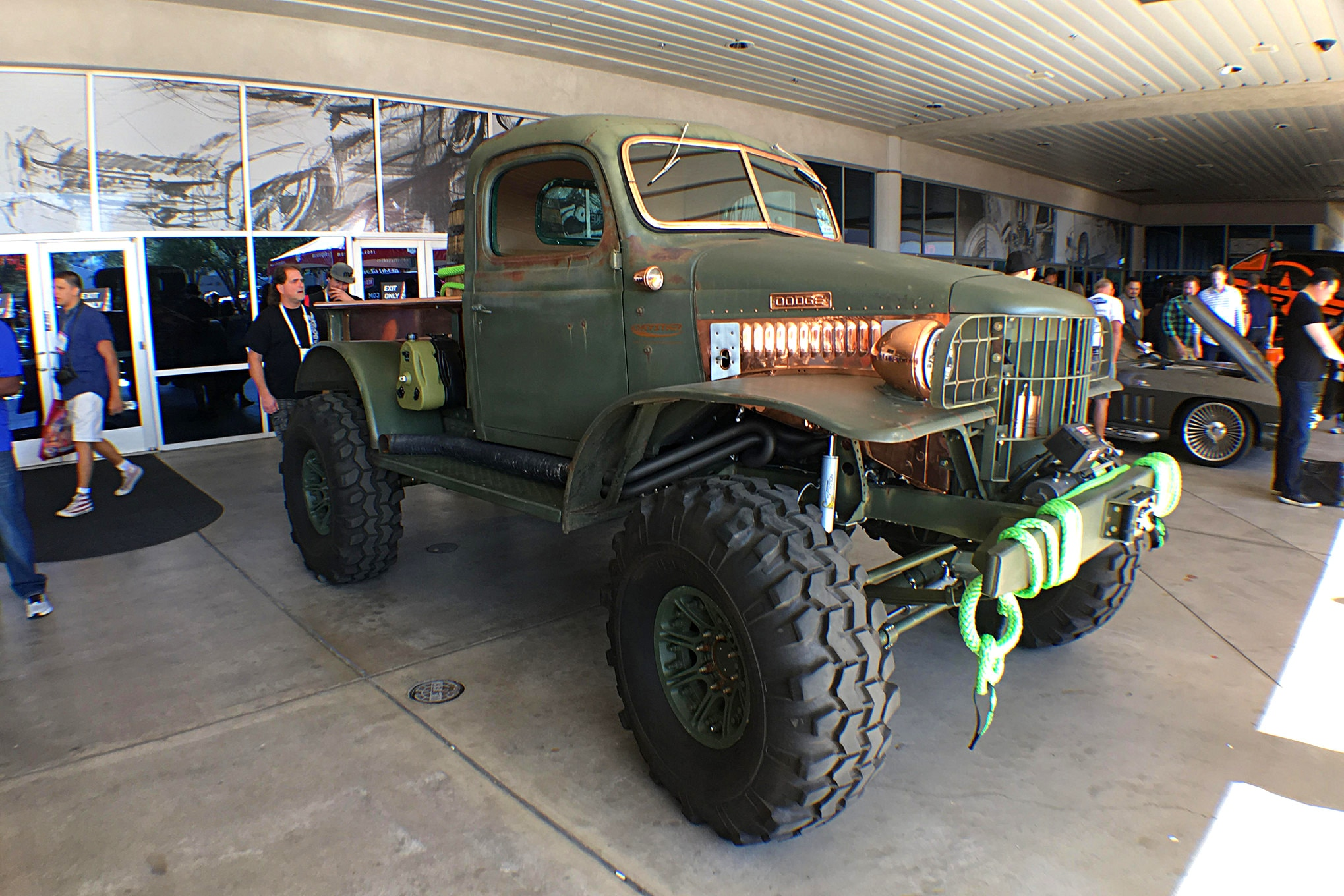 Now that's a Power Wagon.