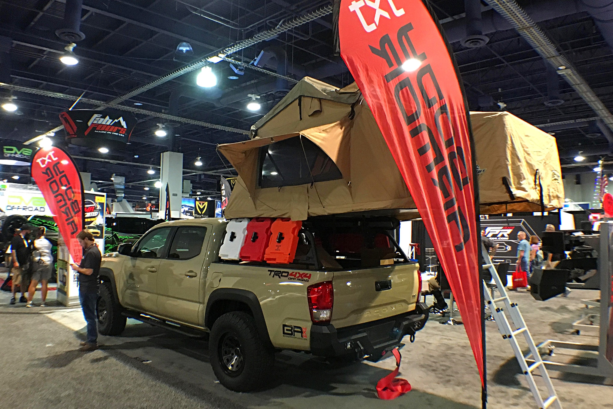 Body Armor showed that the Overlanding craze is a real thing.