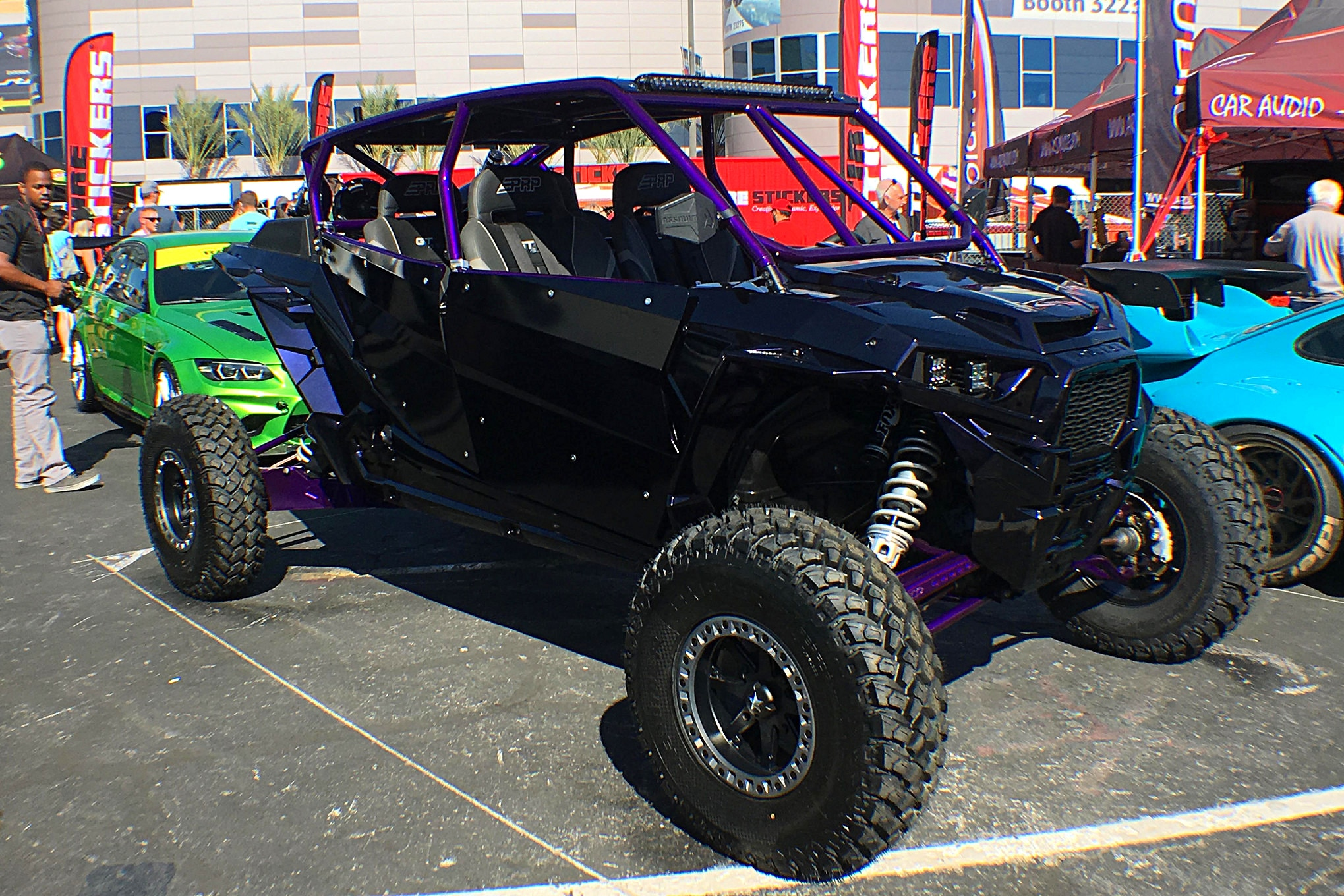 It wasn't exactly the Sand Sports show, but there were some mighty fine UTVs at SEMA this year.