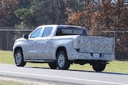2019 chevrolet silverado 1500 spied exterior rear quarter 02