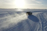2016 bentley bentayga ice road rear