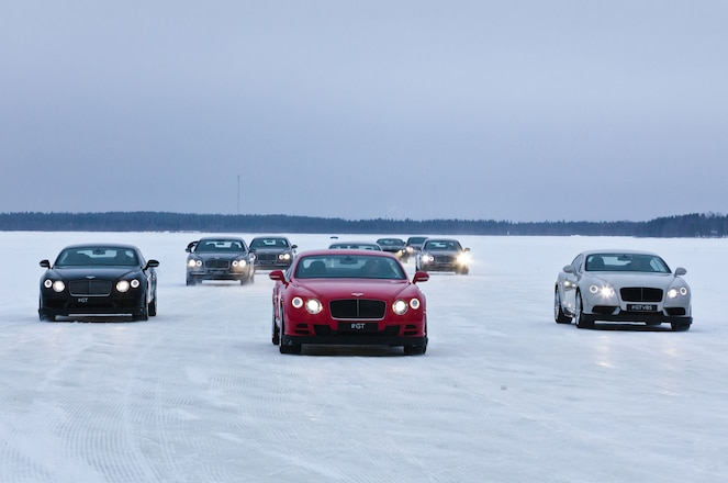 Bentley's Bentayga SUV Will Be at Power On Ice 2016