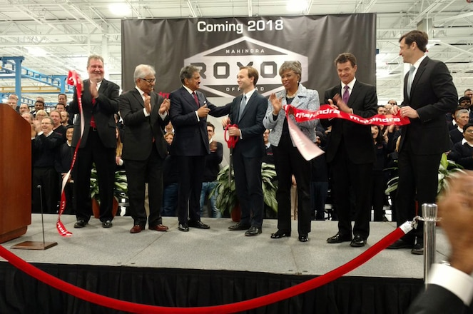Mahindra Opens New Factory In Detroit