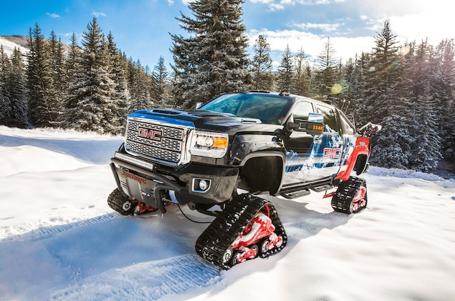 GMC Sierra All Mountain Concept Hits The Slopes at Vail Mountain