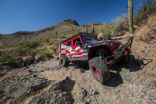 Skyjacker: Official Suspension and Shock of Ultimate Adventure 2017 – #UA2017