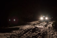 13 snow wheeling night