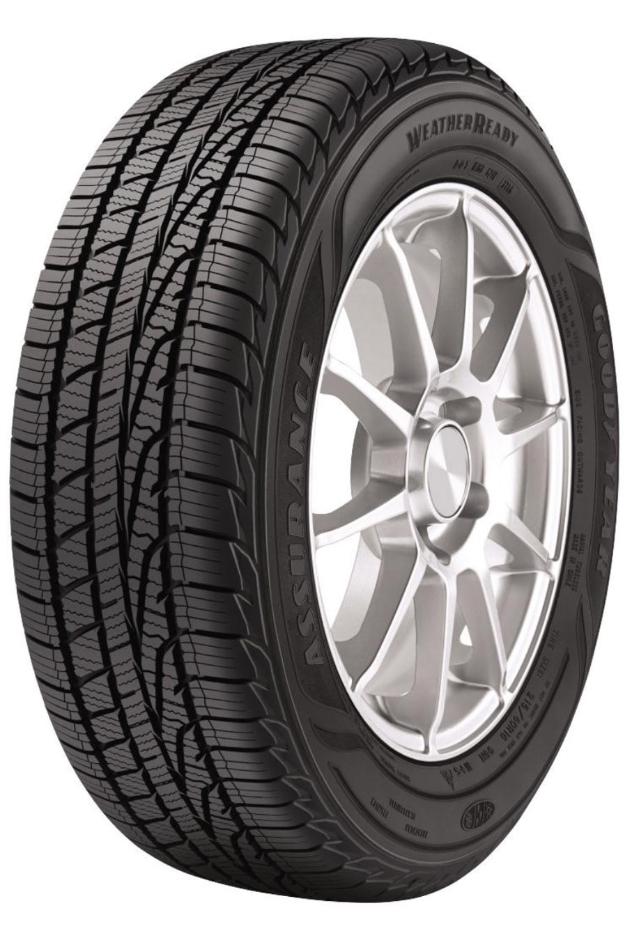 001 new tires goodyear all weather