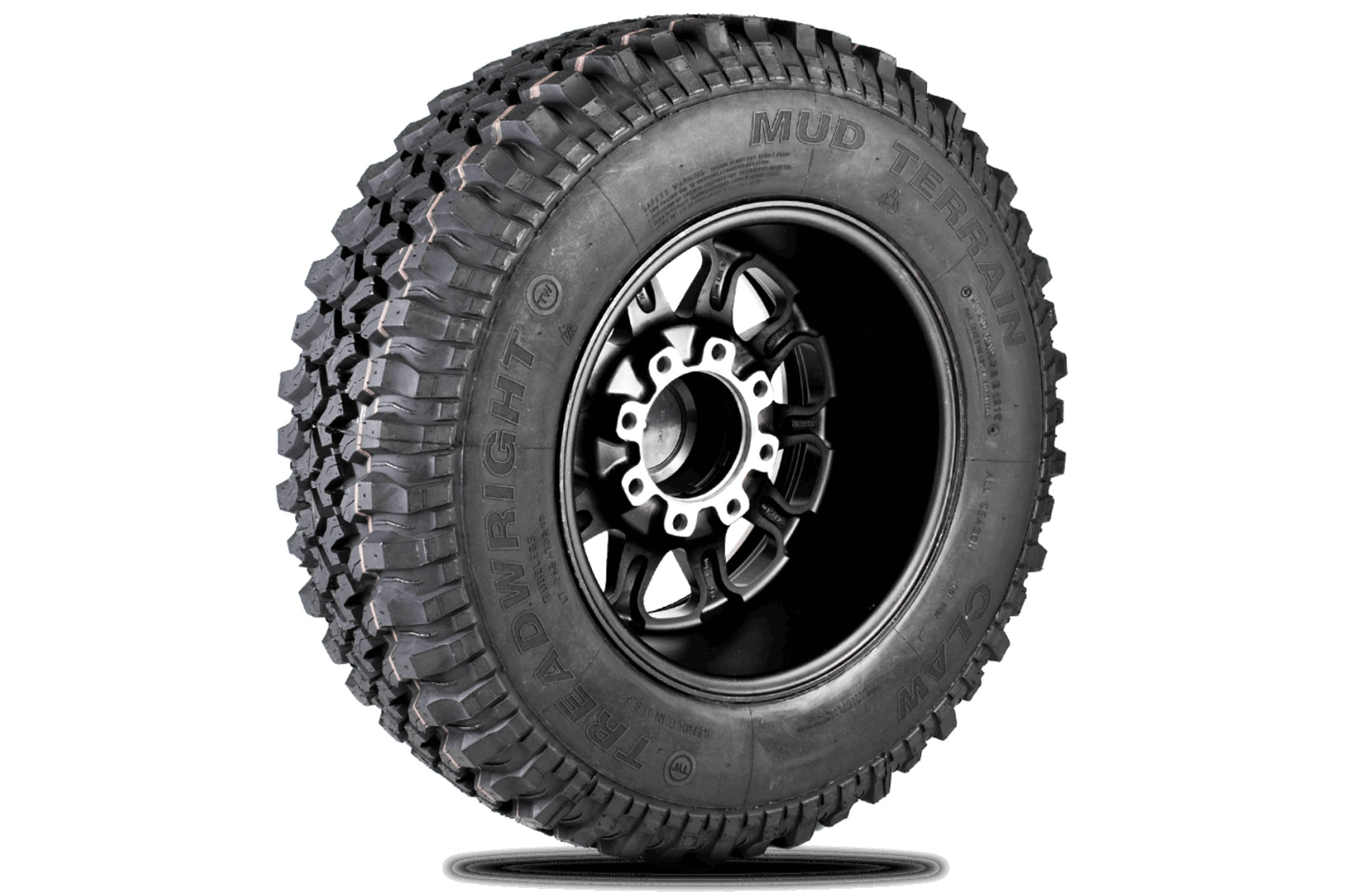 027 new tires treadwright claw mt