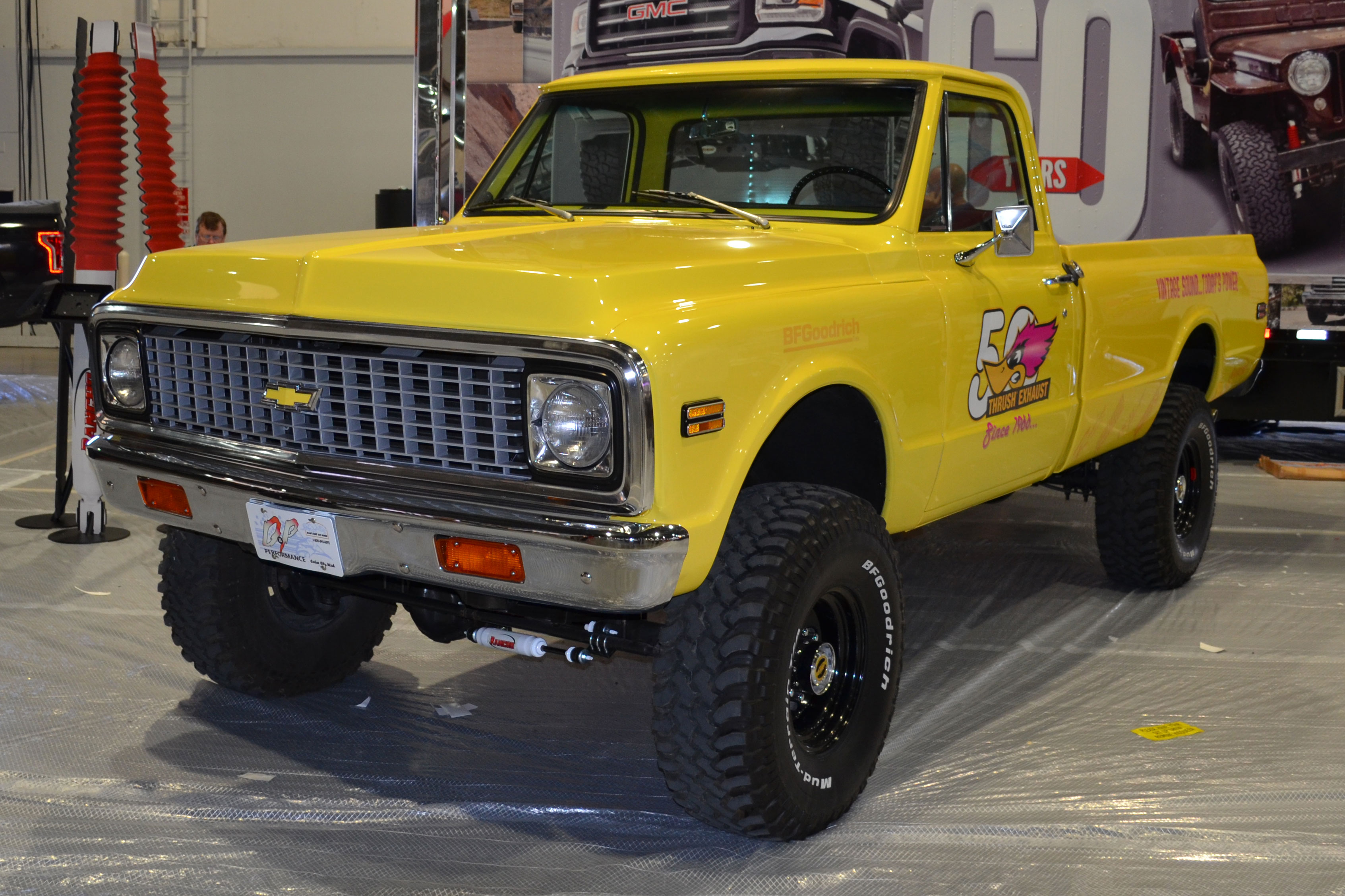 2015 SEMA Show Monday chevy 4x4 truck